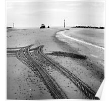 Tracks in the Sand II - Sea Palling Poster