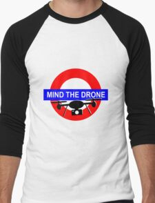 Mind the Drone Men's Baseball ¾ T-Shirt