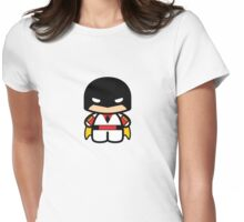 Chibi-Fi Space Ghost Womens Fitted T-Shirt