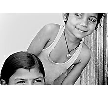 smiles from rajasthan Photographic Print