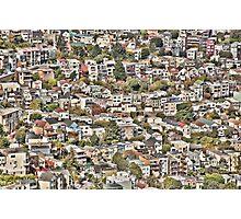 San Francisco Houses Photographic Print
