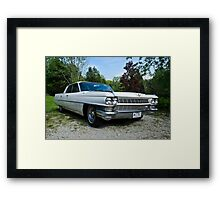 When Cars Were Cars - 1964 Cadillac Framed Print