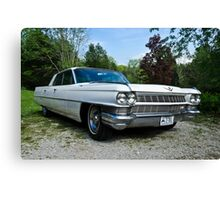 When Cars Were Cars - 1964 Cadillac Canvas Print