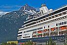 Ryndam at dock in Skagway, Alaska by Yukondick