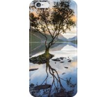 Snowdonia - Snowdon reflections on Llyn Padarn iPhone Case/Skin
