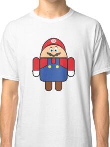 Super Droid Bros. Mario Classic T-Shirt