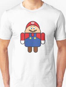 Super Droid Bros. Mario Unisex T-Shirt