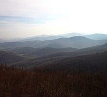 Blue Ridge Mountains by KathrynSylor