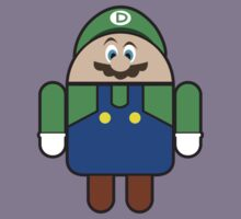 Super Droid Bros. Luigi by Keez
