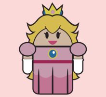 Super Droid Bros. Princess Peach by Keez