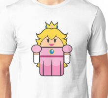 Super Droid Bros. Princess Peach Unisex T-Shirt