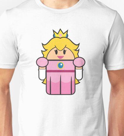 Super Droid Bros. Princess Peach Unisex T-Shirt