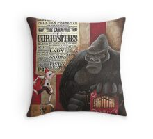 Who are you calling a monkey? Throw Pillow