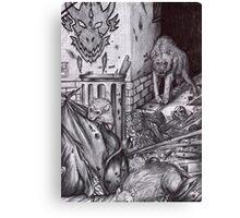 Werewolves - Urban Legend 1 Canvas Print