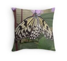 Hanging Paper Kite Butterfly Throw Pillow