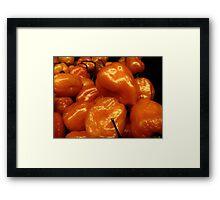 Orange Peppers....... Framed Print