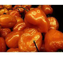Orange Peppers....... Photographic Print