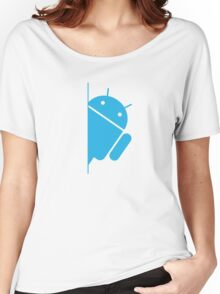 Think with Droids Women's Relaxed Fit T-Shirt