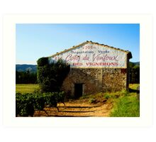Cote du Ventoux, Provence Art Print