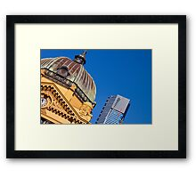 Melbourne Icons Framed Print