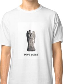weeping angel - don't blink Classic T-Shirt