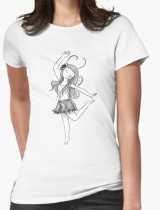Fairy Girly Womens Fitted T-Shirt