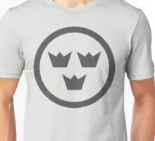 Swedish Air Force Insignia (Low Vis) Unisex T-Shirt