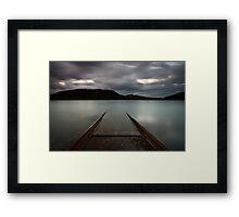 In The Lake Framed Print