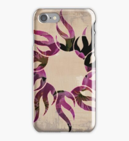 Floral Fire iPhone Case/Skin