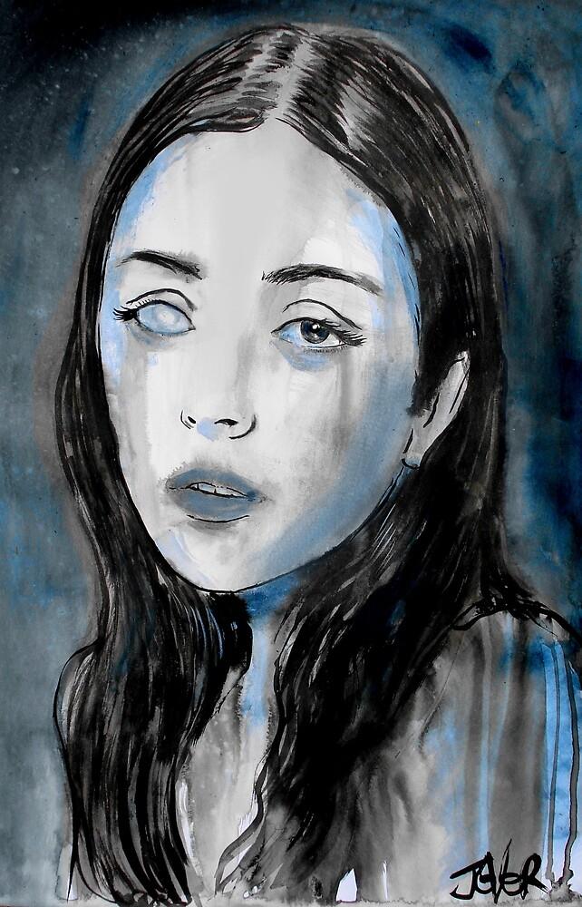 Celestina: the girl with the dead eye by Loui  Jover