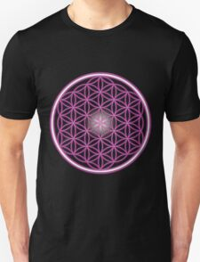 The Pink Flower of Life  T-Shirt