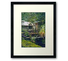 """The Hut"" Framed Print"