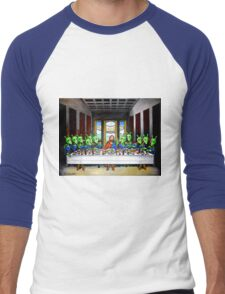 The Penultimate Supper Men's Baseball ¾ T-Shirt