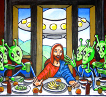 The Penultimate Supper Sticker