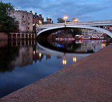 Lendal Bridge After Sunset by Mat Robinson