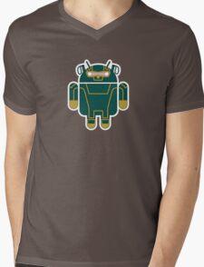 Kick-Assdroid (no text) Mens V-Neck T-Shirt
