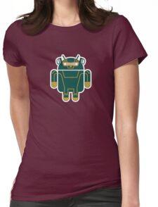 Kick-Assdroid (no text) Womens Fitted T-Shirt