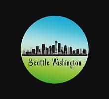 Seattle Washington Skyline Women's Relaxed Fit T-Shirt