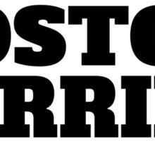 Boston Terrier Love Sticker