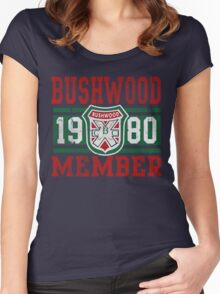 Retro Bushwood 1980 Member Women's Fitted Scoop T-Shirt