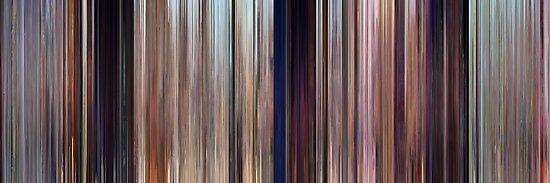 Moviebarcode: Cars (2006) by moviebarcode