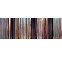 Moviebarcode: Cars (2006) Photographic Print