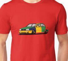 Volkswagen Golf MK3 Harlequin Unisex T-Shirt