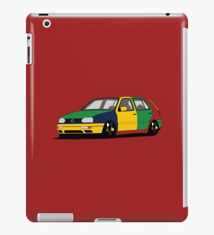 Volkswagen Golf MK3 Harlequin iPad Case/Skin