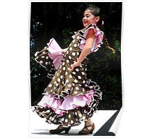 """""""Flamenco!"""" Poster"""