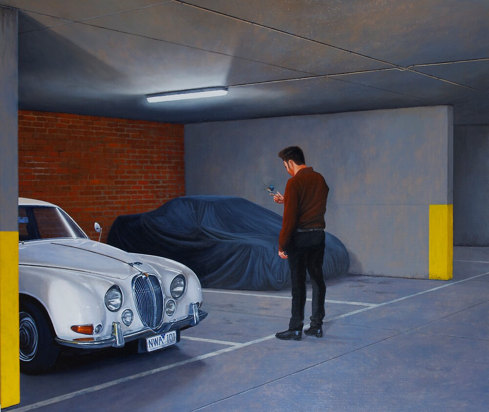 Harbinger, Oil on Linen, 91x107cm, 2011 by Jason Moad
