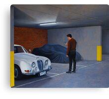 Harbinger, Oil on Linen, 91x107cm, 2011 Canvas Print