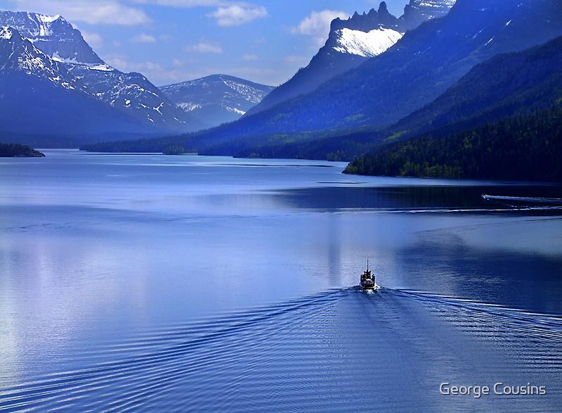 Blue Heaven by George Cousins
