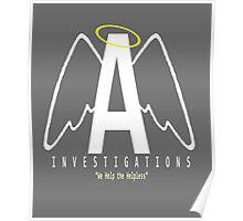 Angel Investigations Logo Poster