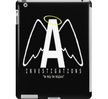 Angel Investigations Logo iPad Case/Skin